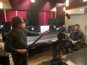 Audio Engineer Tom Hall - The Road to Record Doc film - Photo © Dave Krygier - RoadtoRecord.net